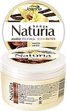 Парфюми, Парфюмерия, козметика Масло за тяло с ванилия и подправки - Joanna Naturia Body Butter