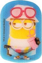 """Парфюми, Парфюмерия, козметика Детска гъба за баня """"Миньоните"""", Дейв в розово - Suavipiel Minnioins Bath Sponge"""