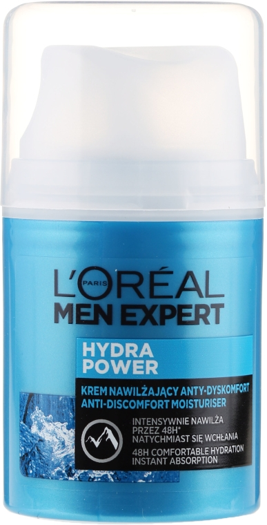Крем-мляко за лице - L'Oreal Paris Men Expert Hydra Power Milk Creme