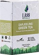 """Парфюми, Парфюмерия, козметика Ръчно изработен сапун """"Зелен чай"""" - Lass Naturals Darjeeling Green Tea Soap"""
