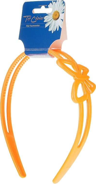 Диадема за коса, 27154, оранжева - Top Choice — снимка N1