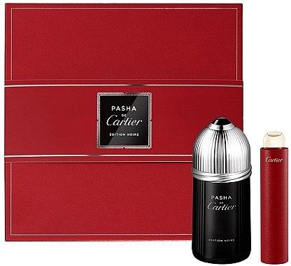 Cartier Pasha de Cartier Edition Noire - Комплект тоалетна вода (edt/100ml + edt/15ml) — снимка N1