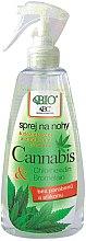 Парфюмерия и Козметика Спрей за крака против неприятна миризма - Bione Cosmetics Cannabis Foot Spray With Triethyl Citrate And Bromelain