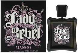 Парфюмерия и Козметика Mango Lady Rebel Rock Deluxe - Тоалетна вода (тестер с капачка)