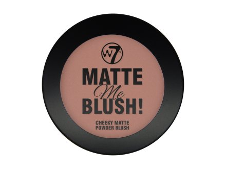 Матираща пудра - W7 Matte Me Blush Powder — снимка N1