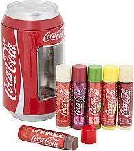 Парфюми, Парфюмерия, козметика Комплект балсами за устни - Lip Smacker Coca-Cola Mix Tin Box (balm/6x4g)