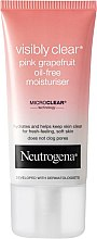 Парфюми, Парфюмерия, козметика Овлажняващ крем - Neutrogena Visibly Clear Pink Grapefruit Oil-Free Moisturiser