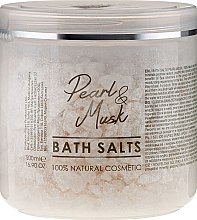 Парфюми, Парфюмерия, козметика Соли за вана - Hristina Cosmetics Sezmar Professional Pearl & Musk Bath Salts