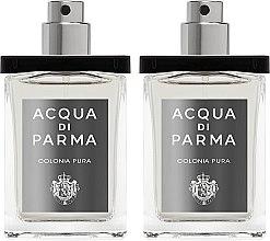 Парфюмерия и Козметика Acqua di Parma Colonia Pura Travel Spray Refills - Одеколони