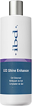 Парфюмерия и Козметика Течност за почистване на лепкавия слой, с блясък - IBD LED Shine Enhancer Gel Cleanser