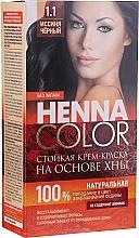 Парфюмерия и Козметика Безамонячна устойчива боя-къна за коса - Fito Козметик Henna Color