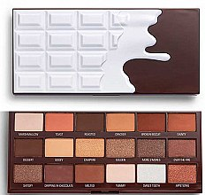 Парфюмерия и Козметика Палитра сенки за очи - I Heart Revolution Chocolate Eyeshadow Palette Chocolate Smores