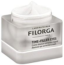 Парфюмерия и Козметика Продукт за околоочен контур - Filorga Time-Filler Eyes Absolute Eye Correction Cream (мостра)