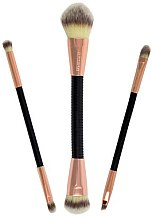 Парфюми, Парфюмерия, козметика Комплект четки - Makeup Revolution Flex & Go Brush Set