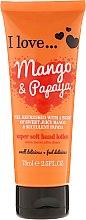 Парфюми, Парфюмерия, козметика Супер нежен лосион за ръце с аромат на манго и папая - I Love... Mango & Papaya Super Soft Hand Lotion