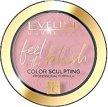 Парфюмерия и Козметика Руж за лице - Eveline Cosmetics Feel The Blush