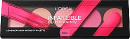 Парфюми, Парфюмерия, козметика Палитра руж - L'Oreal Paris Infaillible Paint Blush Palette
