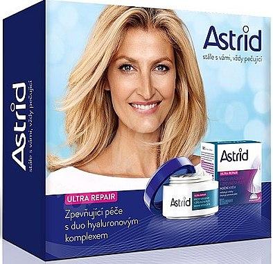 Комплект - Astrid Ultra Repair (day/cream/50ml + night/cream/50ml) — снимка N1