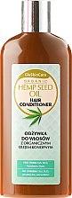Парфюмерия и Козметика Балсам за коса с органично масло от коноп - GlySkinCare Organic Hemp Seed Oil Hair Conditioner