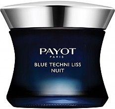 Парфюмерия и Козметика Нощен хроно-активен балсам за лице - Payot Blue Techni Liss Nuit