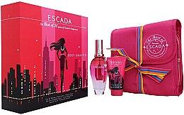 Парфюми, Парфюмерия, козметика Escada Sexy Graffiti - Комплект (edt/50ml + b/lot/50ml + bag)