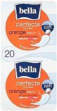 Парфюмерия и Козметика Дамски превръзки Perfecta Ultra Orange, 10+10 бр. - Bella
