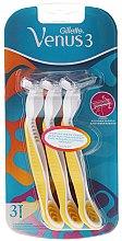 Парфюмерия и Козметика Комплект самобръсначки 3 бр. - Gillette Simply Venus 3 Plus