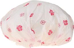 Парфюмерия и Козметика Шапка за душ, 9298, бели и розови цветя - Donegal Shower Cap