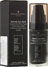Парфюми, Парфюмерия, козметика Околоочен балсам против първи бръчки - Philip Martin's Remedy Eye Balm