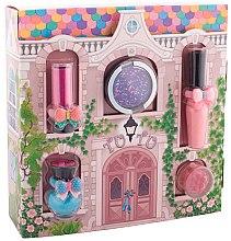 "Парфюми, Парфюмерия, козметика Tutu Cottage set (balm/4ml+gloss/lip/7ml+polish/5ml+eye/cheek/shadow/4,5ml+eye/lip/cheek/shadow/4,5ml) - Детска комплект за грим ""Вълшебна къщичка"""