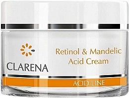 Парфюми, Парфюмерия, козметика Крем с ретинол и бадемова киселина - Clarena Retinol & Mandelic Acid Cream