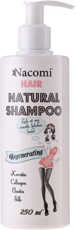 Шампоан за коса - Nacomi Natural Regenerating Shampoo