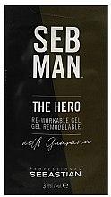 Парфюмерия и Козметика Универсален моделиращ гел за коса - Sebastian Professional Seb Man The Hero (мини)