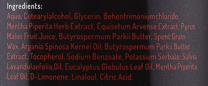 Възстановяваща маска за коса с екстракт от мента, ябълка и овес - Zielone Laboratorium — снимка N3