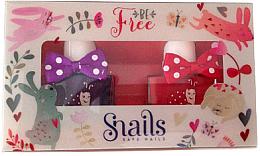 Парфюми, Парфюмерия, козметика Комплект детски лакове за нокти 2х10,5ml - Snails Mini Bebe Be Free