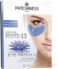 Парфюмерия и Козметика Възстановяващи пачове за очи с екстракт от лотос - Patchness Eye Patch Lotus