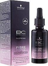 Парфюми, Парфюмерия, козметика Укрепващ серум за увредена коса - Schwarzkopf Professional BC Fibre Force Scalp & Hair Smart Serum