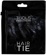 Парфюмерия и Козметика Велурен ластик за коса, черна - Gabriella Salvete Hair Tie