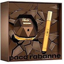 Парфюми, Парфюмерия, козметика Paco Rabanne Lady Million Prive - Комплект парфюмна вода (edp/50ml + mini/10ml)