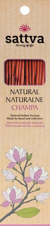 Ароматни пръчици - Sattva Champa — снимка N1