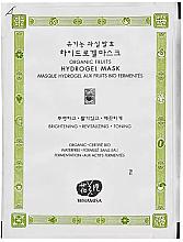 Парфюмерия и Козметика Хидрогелна маска за лице - Whamisa Organic Fruits Hydrogel Mask