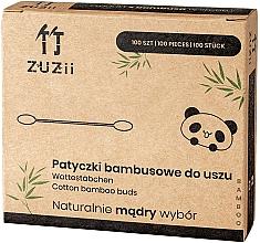 Парфюмерия и Козметика Бамбукови клечки за уши - Zuzii Bamboo Cotton Buds