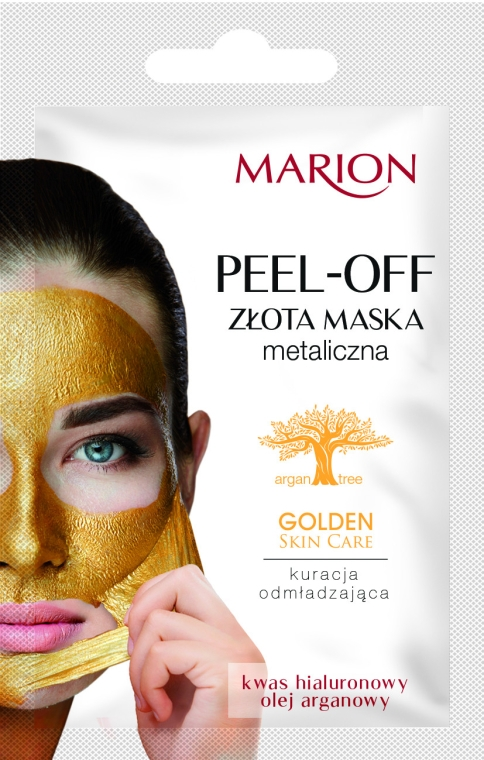 Маска за лице - Marion Golden Skin Care Peel-Off Mask