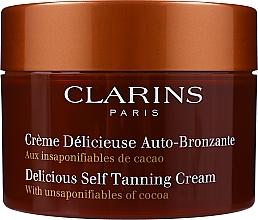 Парфюмерия и Козметика Крем автобронзант за лице и тяло - Clarins Delicious Self Tanning Cream