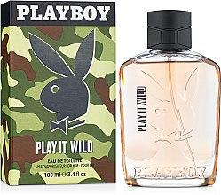 Парфюми, Парфюмерия, козметика Playboy Play It Wild For Him - Тоалетна вода