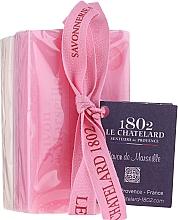 Парфюмерия и Козметика Комплект сапуни с аромат на роза и жасмин - Le Chatelard 1802 Rose & Jasmine (soap/100g + soap/100g)