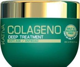 Парфюмерия и Козметика Интензивна маска с колаген за всеки тип коса - Kativa Colageno Deep Treatment