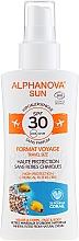 Парфюмерия и Козметика Слънцезащитен спрей - Alphanova Sun Bio SPF30 Spray Voyage