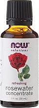 Парфюмерия и Козметика Розова вода концентрат, за кожата на лицето - Now Foods Solutions Rosewater Concentrate