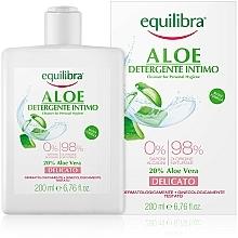 Парфюмерия и Козметика Нежен интимен гел - Equilibra Aloe Gentle Cleanser For Personal Hygiene